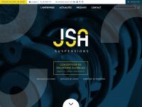 Jsa.fr - Suspensions JSA - JSA - Suspensions, barres antiroulis, correcteurs d'assiette, lames de renfort
