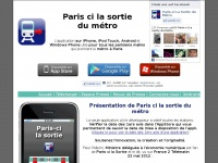 paris-cilasortiedumetro.fr