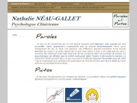 Nathalie NÉAU-GALLET - Cabinet Paroles & Pictos - Le Cabinet Paroles & Pictos