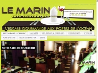 restaurantlemarin.fr
