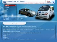 Saget-ambulances.fr