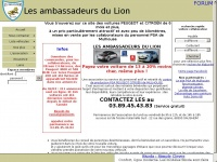 les ambassadeurs du lion v hicules de. Black Bedroom Furniture Sets. Home Design Ideas