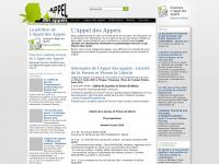 appeldesappels.org