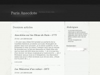 Paris-anecdote.fr
