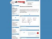 Annuaire Le-Poker.org - visitez ou référencez vos sites - Le Poker