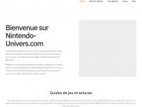 Nintendo-Univers - Accueil - L'information de Nintendo via des news, tests, dossiers et vidéos exclusifs