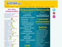 stepfan.net : portail et annuaire de ressources pour l'école primaire :  maternelle et élémentaire