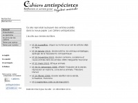 cahiers-antispecistes.org