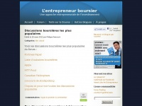 entrepreneurboursier.com