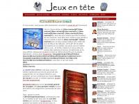 Jeux-en-tete.net - Jeux de lettres et de logique, de l'anagramme au cryptogramme.