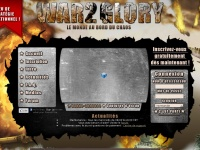 War2glory.fr - WAR2 Glory - France: Accueil