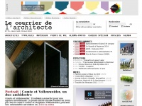 lecourrierdelarchitecte.com