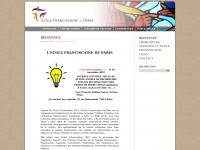 Ecole-franciscaine-de-paris.fr