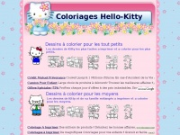 Coloriage Hello Kitty - Dessins de Kitty a colorier et imprimer