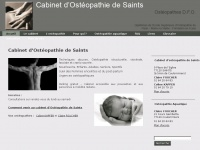 osteopathe-saints.com