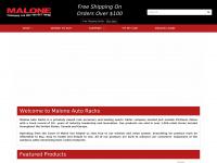 maloneautoracks.com