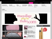 maquillagepourlesnulles.com