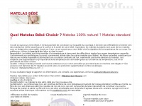 matelasbebe.com