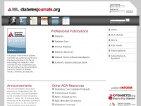 Diabetesjournals.org - American Diabetes Association Journals