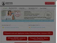 admissionsparalleles.com
