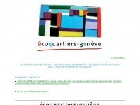 ecoquartiers-geneve.ch