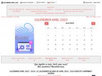 CALENDRIER AVRIL 2015 : LE CALENDRIER DU MOIS DE AVRIL 2015 GRATUIT A IMPRIMER - AGENDA