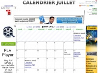 CALENDRIER JUILLET 2014 : LE CALENDRIER DU MOIS DE JUILLET 2014 GRATUIT A IMPRIMER - AGENDA