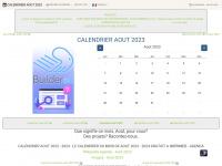 Calendrier-aout.com