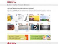 peinture-sterma.com