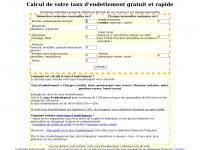 Calcul-taux-endettement.fr