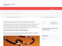 raisonsdecroire.org