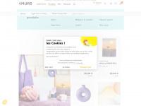 4murs.com - 4 murs : papier peint, peinture, rideaux, tapisserie, intissé, posters, frises, stickers