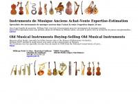 Instrument de Musique Ancien Achat Vente Expertise Estimation Lutherie
