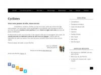 Pile-poil.net - Position et Vélo. Etude posturale. Vélo sur mesure. Cyclisme de compétition sur route