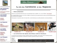 Carnivores-rapaces.org