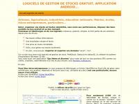 Trois logiciels de gestion de stocks, gratuits, free stock control software