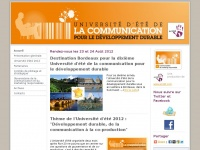 communicationdeveloppementdurable.com