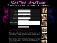 CASTING AMATEUR - Participez à nos tournages X amateurs