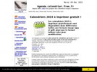 Agenda.calendrier.free.fr