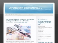 Certification-energetique.be