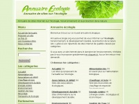 Annuaire-ecologie.org