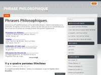 phrasephilosophique.com