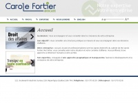 Carolefortier.ca