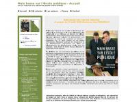 Main basse sur l'école publique - Livre sur l'éducation et la laicité Eddy KHALDI et Muriel FITOUSSI