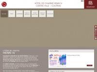 hotelcoutras.com