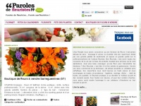 paroles-de-fleuristes.com