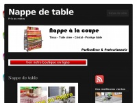 nappe-table.net