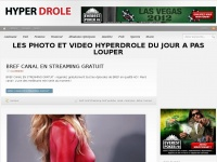 Hyper Drole .com Photos Videos Jeux et Blagues