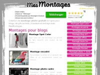 Montage photo gratuit - Site de montages photos, montage pour blog, gif, avatars et smileys. - Mes montages