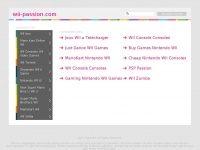 Wii-passion.com - Wii-Passion : Telechargement Iso Wii  - Iso Game Cube  - Jeux Wii Gratuit